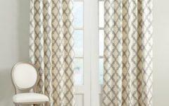 Primebeau Geometric Pattern Blackout Curtain Pairs