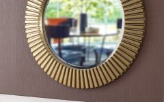 Round Eclectic Accent Mirrors
