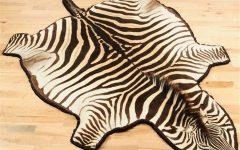 Zebra Skin Rugs