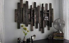 Wood and Iron Wall Art