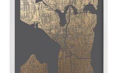 Seattle Map Wall Art