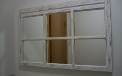 Shabby Chic Window Mirror