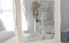 Shabby Chic Mirror White