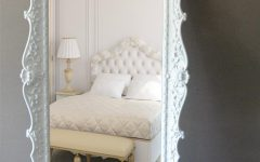 Baroque Floor Mirror