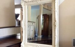 White Shabby Chic Mirror Sale