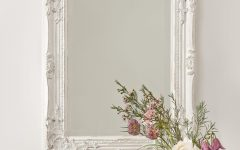 Antique Cream Mirror