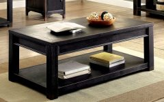 Cosbin Rustic Bold Antique Black Coffee Tables