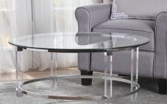 Elowen Round Glass Coffee Tables