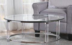 Elowen Round Glass Coffee Tables