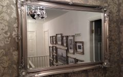 Very Large Round Mirror