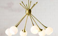 Silvia 6-Light Sputnik Chandeliers