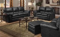 Simmons Leather Sofas and Loveseats
