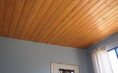 Simple Wooden Ceiling for Living Room Decor