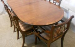 Mahogany Extending Dining Tables and Chairs