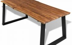 Solid Acacia Wood Dining Tables