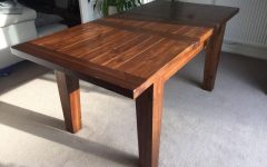Dark Wood Extending Dining Tables