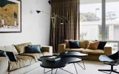 Sophisticated and Comfortable Living Room Midcentury Style