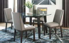 Craftsman 5 Piece Round Dining Sets With Side Chairs