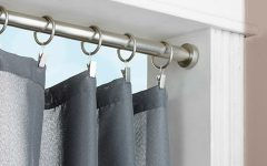 Spring Loaded Curtain Poles
