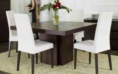 Contemporary 4-Seating Square Dining Tables