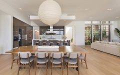 Stunning Oversized Paper Pendant Light for Contemporary Dining Room