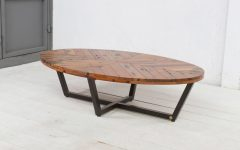 Coffee Tables With Oval Shape