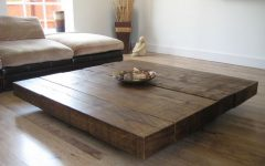 Oversized Square Coffee Tables