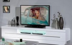 White High Gloss TV Stands Unit Cabinet