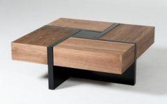 Wood Modern Coffee Tables