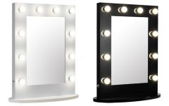 Wall Mounted Lighted Makeup Mirrors