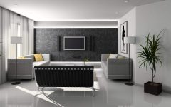 Stylish and Futuristic Living Room Design Concept