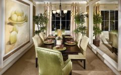 Superb Wall Mirrors for Elegant Dining Room