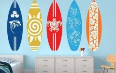 Decorative Surfboard Wall Art