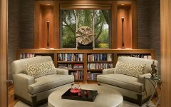 Symmetrical Design Modern Asian Inspired Sitting Room Interior