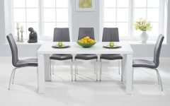White Gloss Dining Tables 140Cm