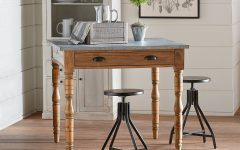 Magnolia Home Taper Turned Jo's White Gathering Tables
