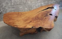 Live Edge Teak Coffee Tables