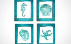 Seashell Prints Wall Art