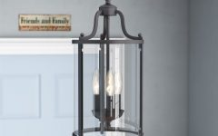 Tessie 3-Light Lantern Cylinder Pendants