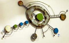 Funky Metal Wall Art