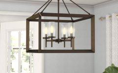 Thorne 4-Light Lantern Rectangle Pendants