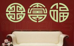 Chinese Symbol Wall Art