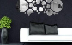 Mirror Circles Wall Art