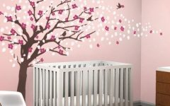 Cherry Blossom Vinyl Wall Art