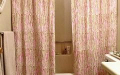 Double Panel Shower Curtains