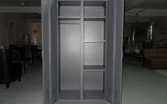 Metal Wardrobes