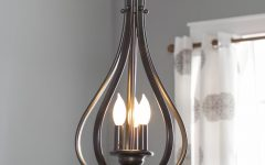 Van Horne 3-Light Single Teardrop Pendants