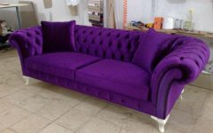 Purple Chesterfield Sofas