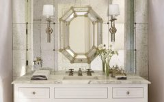 Venetian Bathroom Mirrors