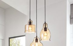 Vernice 3-Light Cluster Bell Pendants